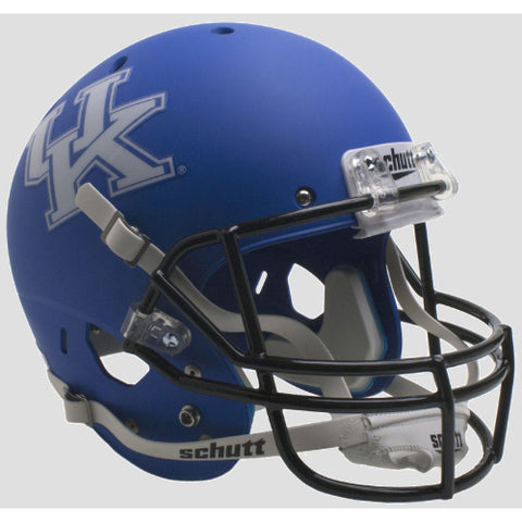 Kentucky Wildcats Matte Royal Blue Schutt XP Replica Helmet - Alternate 4