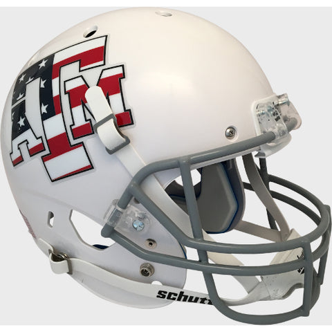 Texas A&M Aggies Stars & Stripes Schutt XP Replica Helmet - Alternate 4