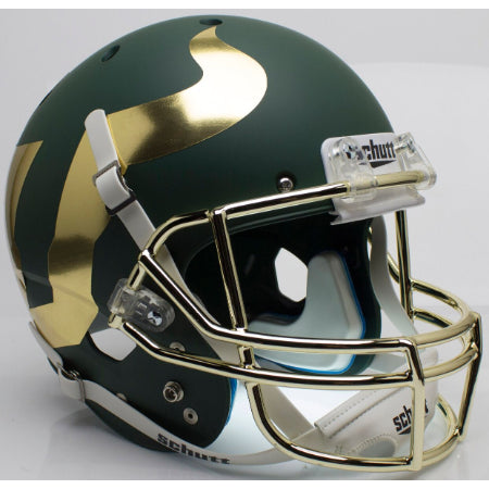 South Florida Bulls Chrome Mask Schutt XP Replica Helmet - Alternate 4