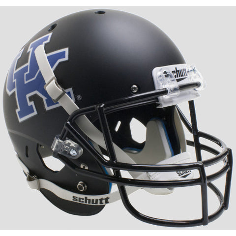 Kentucky Wildcats Matte Black Schutt XP Replica Helmet - Alternate 5