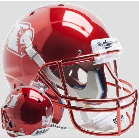 Louisville Cardinals Red Chrome Ali Schutt XP Replica Helmet - Alternate 5