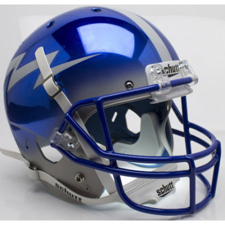 Air Force Falcons Chrome Schutt XP Replica Helmet - Alternate 5