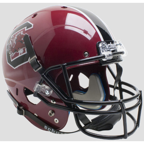 South Carolina Gamecocks Cardinal Schutt XP Replica Helmet - Alternate 1
