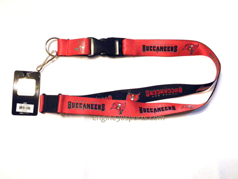 "Tampa Bay Buccaneers Dual Color 24"" Lanyard"
