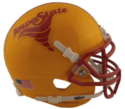 Iowa State Cyclones 1983 Throwback Schutt Mini Helmet