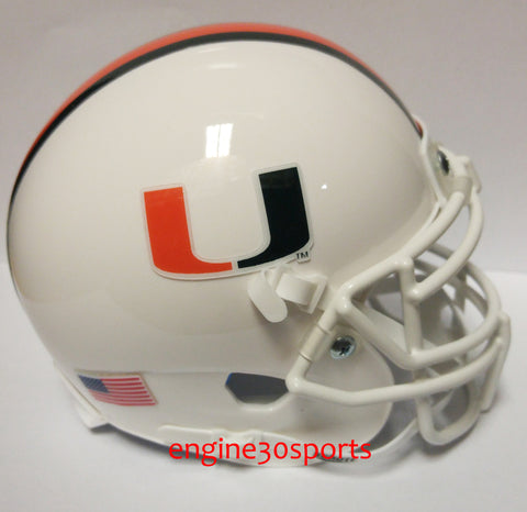 Miami Hurricanes Schutt XP Mini Helmet