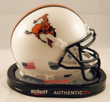 Oklahoma State Cowboys Bucking Cowboy Schutt XP Mini Helmet - Alternate 11 2