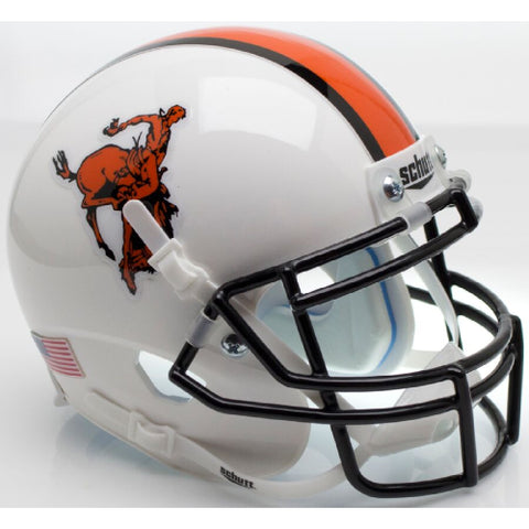 Oklahoma State Cowboys Bucking Cowboy Schutt XP Mini Helmet - Alternate 11