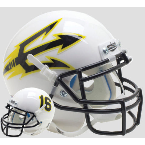 Arizona State Sun Devils Black Pitchfork Schutt XP Mini Helmet - Alternate 11