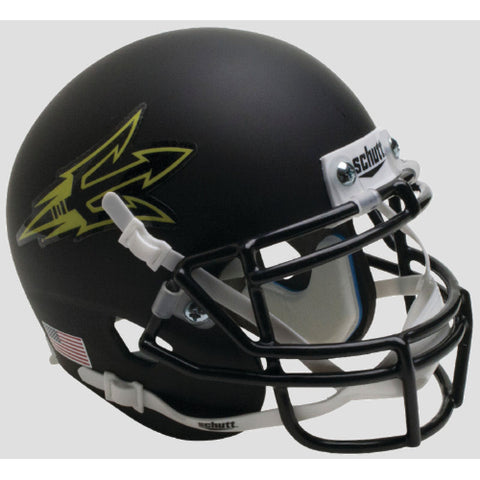 Arizona State Sun Devils Matte Black Small Pitchfork Schutt XP Mini Helmet - Alternate 12