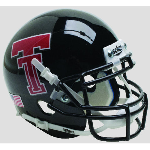 Texas Tech Red Raiders Retro Logo Schutt XP Mini Helmet - Alternate 15