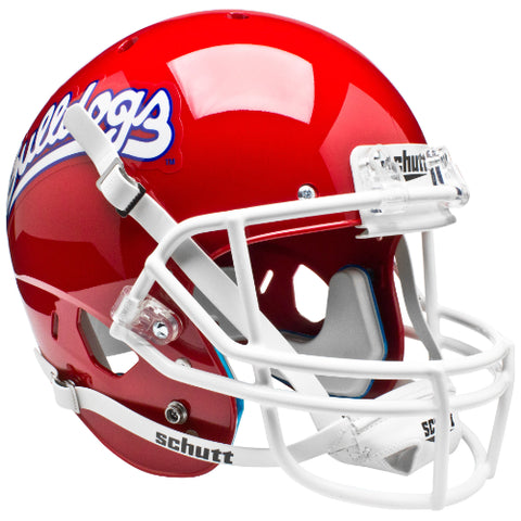 Fresno State Bulldogs Retro Logo Schutt XP Mini Helmet - Alternate 1