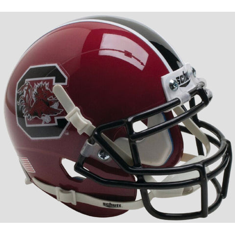 South Carolina Gamecocks Cardinal Schutt XP Mini Helmet - Alternate 1