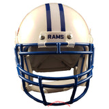 Colorado State Rams State Flag Schutt XP Mini Helmet - Alternate 1 Front