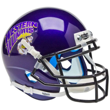 Western Illinois Leathernecks Schutt XP Mini Helmet - Alternate 1