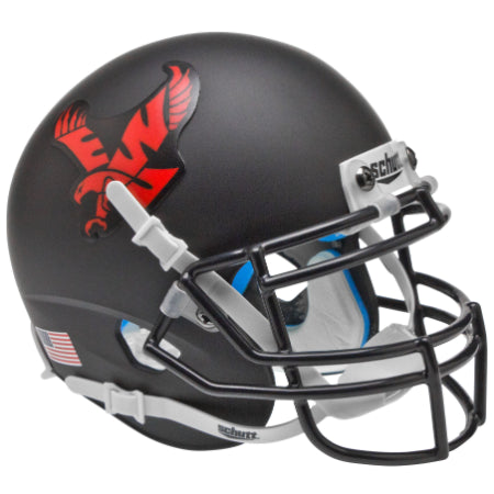 Eastern Washington Eagles Black Schutt XP Mini Helmet - Alternate 1