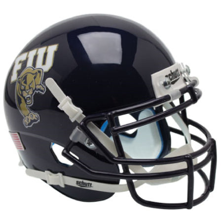 Florida International Panthers Black Schutt XP Mini Helmet - Alternate 1