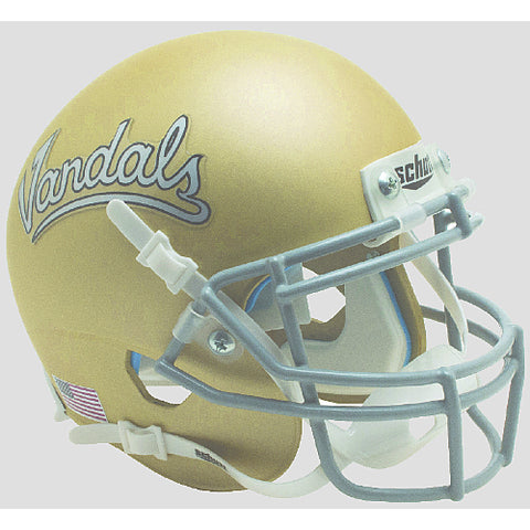 Idaho Vandals Matte Gold Schutt XP Mini Helmet - Alternate 1