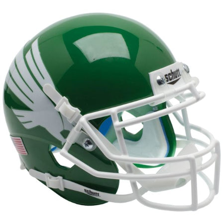 North Texas Mean Green Schutt XP Mini Helmet - Alternate 1