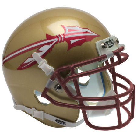 Florida State Seminoles Gold Schutt XP Mini Helmet - Alternate 2