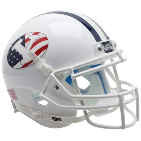 BYU Cougars Never Forget Schutt XP Mini Helmet - Alternate 2