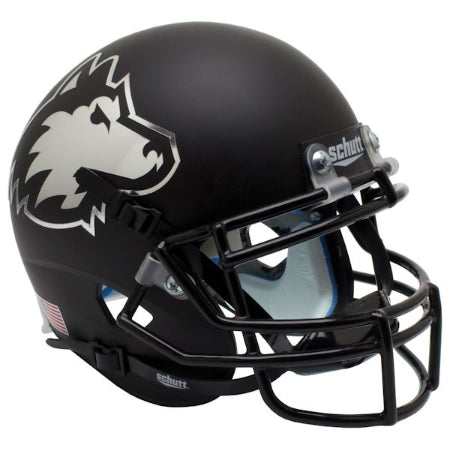 Northern Illinois Huskies Matte Black Schutt XP Mini Helmet - Alternate 2
