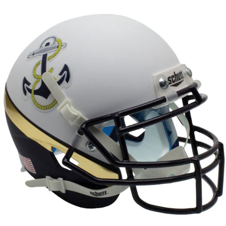 Navy Midshipmen 2012 Special Schutt XP Mini Helmet - Alternate 2