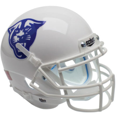 Georgia State Panthers White with Panther Logo Schutt XP Mini Helmet - Alternate 2