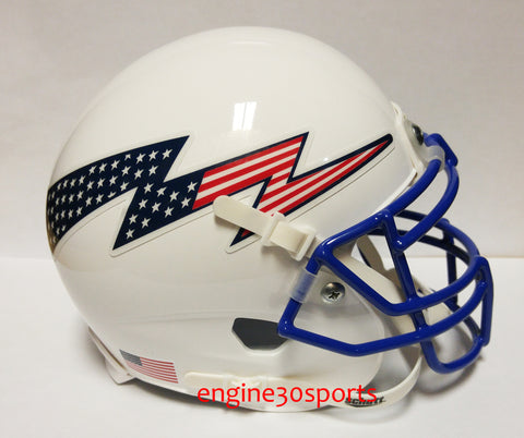 Air Force Falcons Stars & Stripes Logo Schutt XP Mini Helmet - Alternate 2