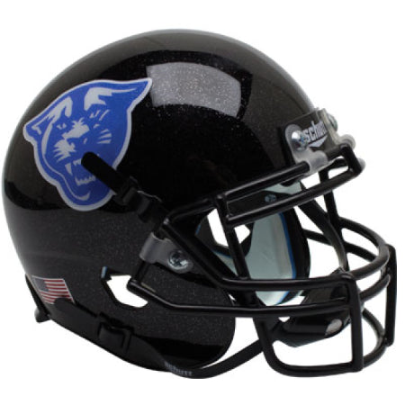 Georgia State Panthers Black with Panther Logo Schutt XP Mini Helmet - Alternate 3