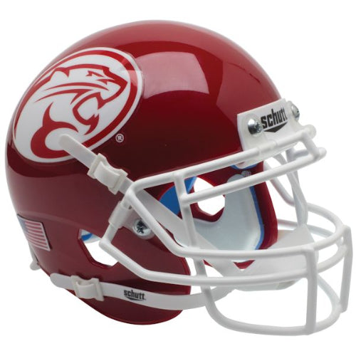 Houston Cougars Cougar Logo Schutt XP Mini Helmet - Alternate 3