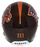 Bowling Green Falcons Military Appreciation Schutt XP Mini Helmet - Alternate 3 Back
