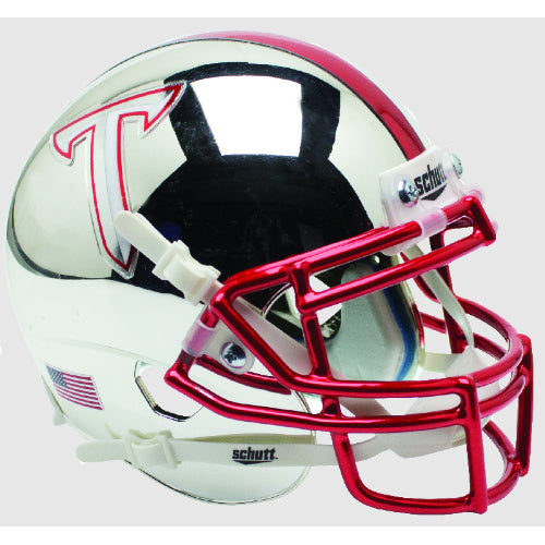 Troy Trojans Chrome Schutt XP Mini Helmet - Alternate 3