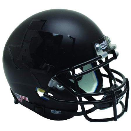 Texas A&M Aggies 2015 Matte Black Schutt XP Mini Helmet - Alternate 3