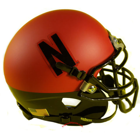 Nebraska Cornhuskers Red & Black Schutt XP Mini Helmet - Alternate 3