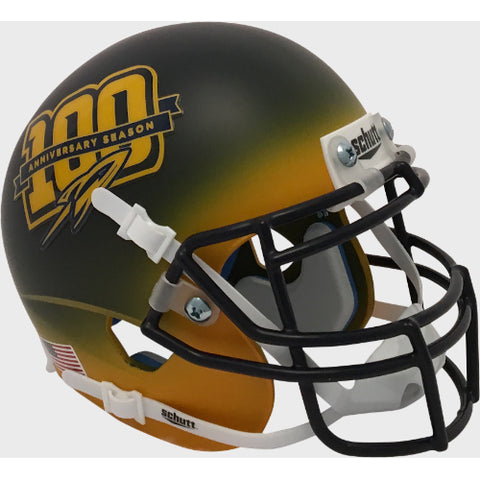 Toledo Rockets 100th Anniversary Schutt XP Mini Helmet - Alternate 3