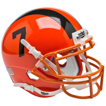 Oregon State Beavers Orange Schutt XP Mini Helmet - Alternate 3