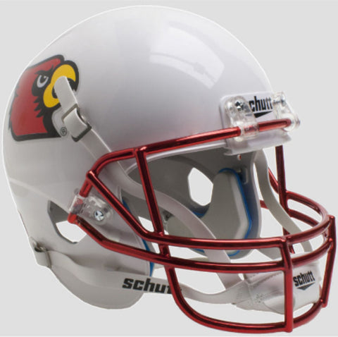 Louisville Cardinals Chrome Mask Schutt XP Mini Helmet - Alternate 3