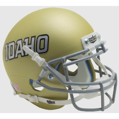 Idaho Vandals Matte Gold Schutt XP Mini Helmet - Alternate 3