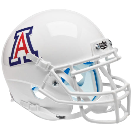 Arizona Wildcats White Schutt XP Mini Helmet - Alternate 4