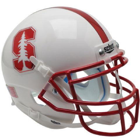 Stanford Cardinal Chrome Decal Schutt XP Mini Helmet - Alternate 4