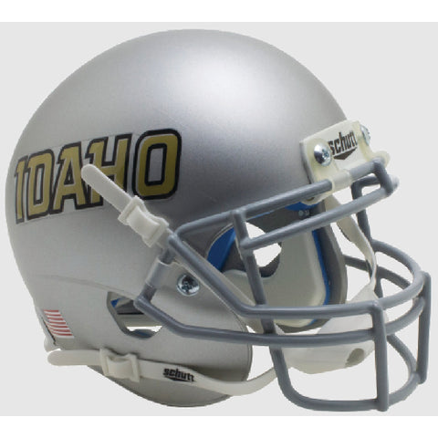 Idaho Vandals Silver Schutt XP Mini Helmet - Alternate 4