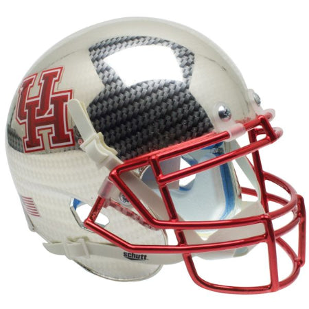 Houston Cougars Aqua Tech Schutt XP Mini Helmet - Alternate 4