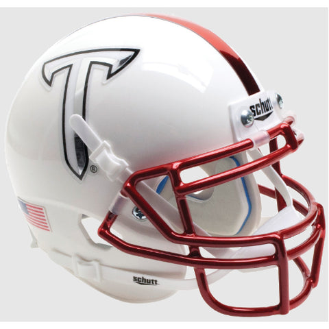 Troy Trojans White Schutt XP Mini Helmet - Alternate 4