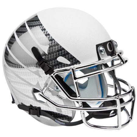 Oregon Ducks White Vapor Wing Logo Schutt XP Mini Helmet - Alternate 5