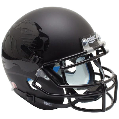 Missouri Tigers All Black Schutt XP Mini Helmet - Alternate 5