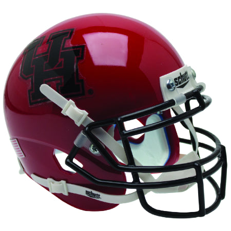 Houston Cougars Black Mask Schutt XP Mini Helmet - Alternate 5