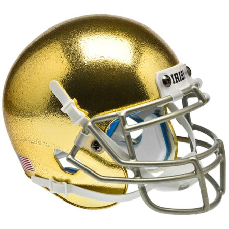 Notre Dame Fighting Irish Textured Schutt XP Mini Helmet - Alternate 5