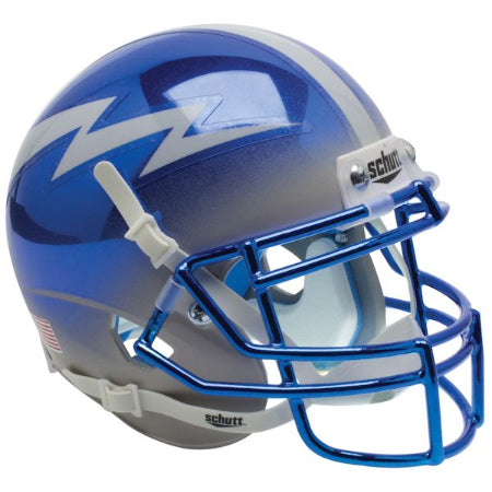 Air Force Falcons Chrome Schutt XP Mini Helmet - Alternate 5
