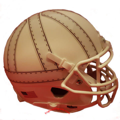 Nebraska Cornhuskers Old School Schutt XP Mini Helmet - Alternate 4